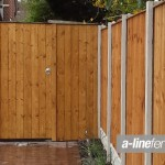 Timber Gates in Garston