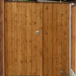 Timber Gates in Gateacre