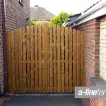 Wooden Gates in Huyton