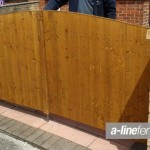 Wooden Gates in Gateacre