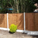 Wooden Garden Fencing in Childwall