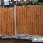 Wooden Garden Fencing in Allerton