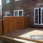 Wooden Garden Fencing in Litherland
